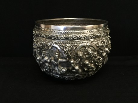 Decorated bowl no. 100
